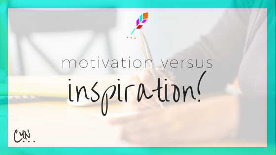 motivation versus inspiration